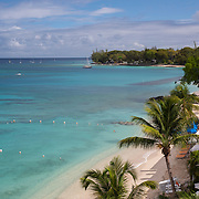 Beach in Holetown, on the West Coast of Barbados