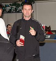 06/01/15 <br /> GLASGOW AIRPORT<br /> Celtic manager Ronny Deila