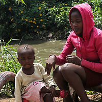 For Cindy, living by the river basin has been tough for her and her daughter. In addition to the unbearable stench emanating from sewer waste in the river, Cindy experiences breathing complications at night and when the river flood.