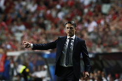 September 19, 2018 - Lisbon, Portugal - Niko Kovac of Bayern Munchen reacts during Champions League 2018/19 match between SL Benfica vs FC Bayern Munchen, in Lisbon, on September 19, 2018. (Credit Image: © Carlos Palma/NurPhoto/ZUMA Press)