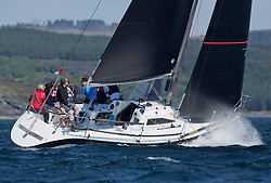 Sailing - SCOTLAND  - 25th May 2018<br /> <br /> Opening days racing the Scottish Series 2018, organised by the  Clyde Cruising Club, with racing on Loch Fyne from 25th-28th May 2018<br /> <br /> IRL1484, Harmony, John Swan, Howth Yacht Club, Half Tonner<br /> <br /> Credit : Marc Turner<br /> <br /> Event is supported by Helly Hansen, Luddon, Silvers Marine, Tunnocks, Hempel and Argyll & Bute Council along with Bowmore, The Botanist and The Botanist
