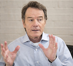 May 16, 2017 - Hollywood, California, U.S. - BRYAN CRANSTON promotes 'Wakefield.' Bryan Lee Cranston (born March 7, 1956) is an American actor, voice actor, screenwriter, director and producer. He is best known for portraying Walter White on the AMC crime drama series Breaking Bad, Hal on the Fox comedy series Malcolm in the Middle, and Dr. Tim Whatley in five episodes of the NBC comedy series Seinfeld. For Breaking Bad, Cranston won the Primetime Emmy Award for Outstanding Lead Actor in a Drama Series four times (2008–2010, 2014), including three consecutive wins (the second time in television history). After becoming one of the producers of Breaking Bad in 2011, he also won the award for Outstanding Drama Series twice. Untouchable (2018), Isle of Dogs (2018), Last Flag Flying (2017), SuperMansion (TV Series 2015-2017), Power Rangers (2017), The Disaster Artist (2017), Wakefield (2017). (Credit Image: © Armando Gallo via ZUMA Studio)