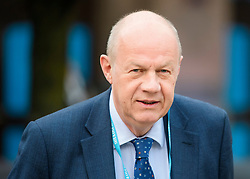 © Licensed to London News Pictures. 02/10/2017. Manchester, UK. First Secretary of State DAMIEN GREEN seen on the second day of the Conservative Party Conference. The four day event is expected to focus heavily on Brexit, with the British prime minister hoping to dampen rumours of a leadership challenge. Photo credit: Ben Cawthra/LNP