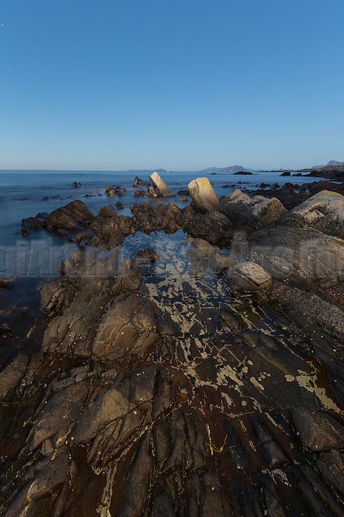 Seascape nearby Runde, Norway   Sjølandskap ved Storevika, Goksøyr, Runde