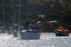 Largs Regatta Festival 2018<br /> <br /> Day 1 - GBR8543R, Jings, Robin Young, CCC, J109<br /> <br /> Images: Marc Turner