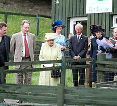 The Queen visits Gorgie City Farm, Edinburgh, 4 July 2019