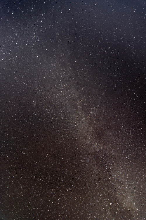 The sky is very clear and dark here in Inukjuak. The milky way in december.