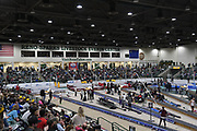 General overall view of the National Pole Vault Summit at the Reno Events Livestock Center, Friday, Jan. 17, 2020, in Reno, Nev.