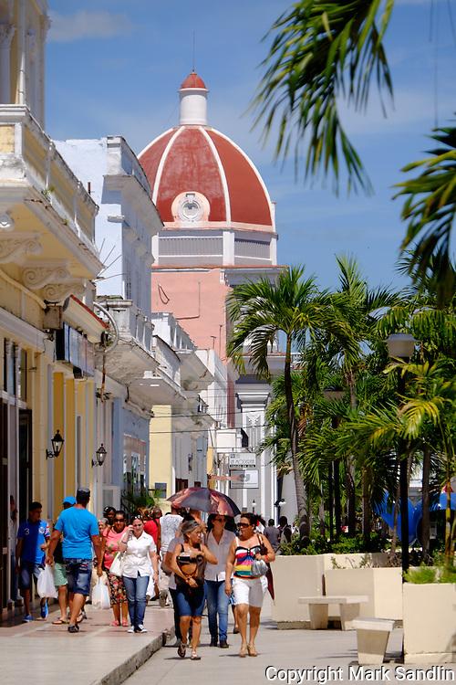 Street scenes Cienfuegos, Cuba, Markets, Homes, faces, people, dominoes