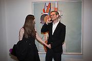 Caitlin Curran; Miles Aldridge, George Condo - private view . Simon Lee Gallery, 12 Berkeley Street, London, 10 February 2014