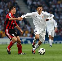 Fotball. UEFA Champions League. Finale. 15.05.2002.<br /> Real Madrid v Bayer Leverkusen 2-1.<br /> Santiago Solari, Real Madrid.<br /> Foto: Robin Parker, Digitalsport