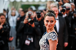 """Penelope Cruz arrives for the screening of """"Pain And Glory"""" during the 72nd annual Cannes Film Festival on May 17, 2019 in Cannes, France. Photo by Ammar Abd Rabbo/ABACAPRESS.COM"""