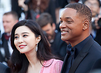 Will Smith and Fan Bingbing at the 70th Anniversary Ceremony arrivals at the 70th Cannes Film Festival Tuesday 23rd May 2017, Cannes, France. Photo credit: Doreen Kennedy