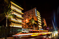 Ocean Drive featuring the Hotel Victor