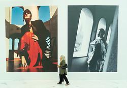 Billboards at Dubai Mall Fashion Avenue , Downtown Dubai, United Arab Emirates