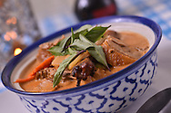 Red curry roast duck from Peng and Po.