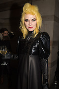 "PAM HOGG, The Veuve Clicquot Widow Series, ""A Beautiful Darkness"" curated by Nick Knight and SHOWstudio, The College, Southampton Row, London, WC1. 28 October 2015"