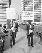 Ackroyd 11972-5  NAACP picketing City Hall. September 30, 1963