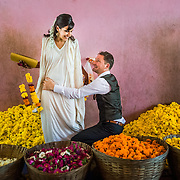 Linda and Jörg's wedding in Goa