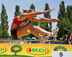 29-05-2011 ATLETIEK: HYPO MEETING 2011: GOTZIS<br /> Dafne Schippers (NED), Heptathlon - Long Jump Women <br /> ***NETHERLANDS ONLY***<br /> ©2011-FotoHoogendoorn.nl/EXPA/P.Rinderer