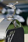 Isotta Fraschini Hood Ornament,Keeneland Concours D'Elegance,Lexington,Ky.