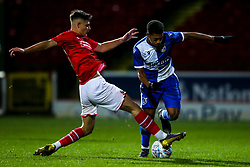 Zain Walker of Bristol Rovers - Mandatory by-line: Robbie Stephenson/JMP - 29/10/2019 - FOOTBALL - County Ground - Swindon, England - Swindon Town v Bristol Rovers - FA Youth Cup Round One