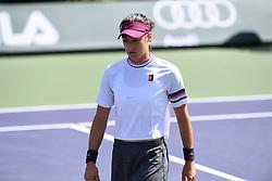 March 8, 2019 - Palm Desert, California, Usa - Tennis : BNP Paribas Open 2019 - Caroline Garcia - France (Credit Image: © Panoramic via ZUMA Press)