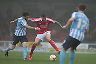 Swindon Town midfielder Ben Gladwin during the Sky Bet League 1 match between Swindon Town and Coventry City at the County Ground, Swindon, England on 24 October 2015. Photo by Jemma Phillips.
