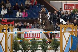 Veniss Pedro, (BRA), Quabri de L Isle<br /> Credit Suisse Grand Prix<br /> CHI de Genève 2016<br /> © Hippo Foto - Dirk Caremans<br /> 08/12/2016
