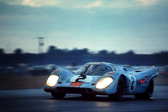 Winning Porsche 917K at 1971 Daytona 24-hour
