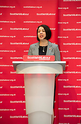 Pictured: Monica Lennon, MSP, Scottish Labour's inequality spokesperson introduced Kezia Dugdale <br /> <br /> Scottish Labour leader Kezia Dugdale today visited the Grassmarket Community Project in Edinburgh where she delivered her first major speech since the Brexit vote, during which she insist edthat politicians need to reach out to the more than one million Scots who voted Leave. Grassmarket Community Project, 86 Candlemaker Row, EH1 2QA<br /> <br /> Ger Harley | EEm 7 July  2016