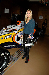 IMOGEN LLOYD WEBBER at a party to celebrate the first year if ING's sponsorship of the Renault Formula 1 team, held at the Mayfair Hotel, Stratton Street, London W1 on 28th November 2007.<br />