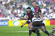 Twickenham, Surrey. UK., 2nd May2004, Stoop Memorial Ground, [Mandatory Credit; Peter Spurrier/Intersport Images],<br /> 02/05/2004  - Zurich Premiership - Harlequins v Bath Rugby.