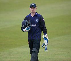 Gloucester's Gareth Roderick looks on.  - Mandatory byline: Alex Davidson/JMP - 24/03/2016 - CRICKET - Taunton Vale CC - Taunton , England - Somerset v Gloucestershire -  Pre Season