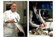Chef Ben Pollinger - Oceana, NYC by Rodney Bedsole, a food photographer based in Nashville and New York City.