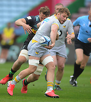 Rugby Union - 2020 / 2021 Gallagher Premiership - Round 18 - Harlequins vs Wasps - The Stoop<br /> <br /> Thomas Young of Wasps<br /> <br /> <br /> Credit : COLORSPORT/ANDREW COWIE