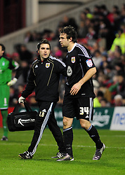 Bristol City's Brett Pitman - Photo mandatory by-line: Matt Bunn/JMP - 25/01/2011 - SPORT - FOOTBALL - npower championship-Nottingham Forest v Bristol city-City Ground-Nottingham
