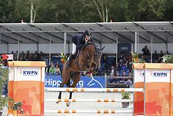 129 - Floyd - Van Der Maat Bart<br /> 4 Jarige Finale Springen<br /> KWPN Paardendagen - Ermelo 2014<br /> © Dirk Caremans