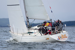 Largs Regatta Week 2017 <br /> <br /> Day 1<br /> <br /> IRL16010, Busy Beaver, M Bradshaw,J Gallagher, Cove Sailing Club, Sigma 33 OOD<br /> <br /> Picture Marc Turner