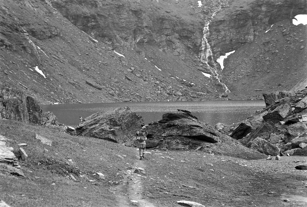 Rissajaure i Kerkevagge söder om Torne träsk i Lappland