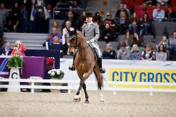Duvefelt Per, SWE, Edvin<br /> Gothenburg Horse Show FEI World Cups 2017<br /> © Hippo Foto - Stefan Lafrentz<br /> 24/02/17