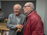 CHRIS KILLIP; DAVID HURN Opening of the Martin Parr Foundation party,  Martin Parr Foundation, 316 Paintworks, Bristol, BS4 3 EH  20 October 2017