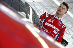 March 2, 2018 - Las Vegas, Nevada, United States of America - March 02, 2018 - Las Vegas, Nevada, USA: Ryan Reed (16) hangs out in the garage during practice for the Boyd Gaming 300 at Las Vegas Motor Speedway in Las Vegas, Nevada. (Credit Image: © Chris Owens Asp Inc/ASP via ZUMA Wire)