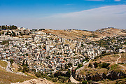 The City of David, or the Palestinian village of Wadi Hilweh in Silwan