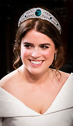 Princess Eugenie during her wedding to Jack Brooksbank at St George's Chapel in Windsor Castle.