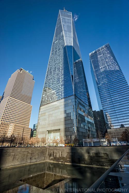 One World Trade Center & 9/11 Memorial Pool
