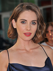 """Alison Brie arrives at Netflix's """"Glow"""" Los Angeles Premiere held at the Arclight Cinerama Dome in Los Angeles, CA on Wednesday, June 21, 2017.  (Photo By Sthanlee B. Mirador) *** Please Use Credit from Credit Field ***"""
