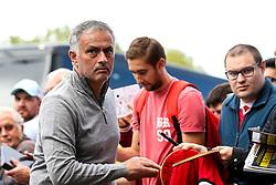 Manchester United manager Jose Mourinho arrives at Turf Moor - Mandatory by-line: Robbie Stephenson/JMP - 02/09/2018 - FOOTBALL - Turf Moor - Burnley, England - Burnley v Manchester United - Premier League
