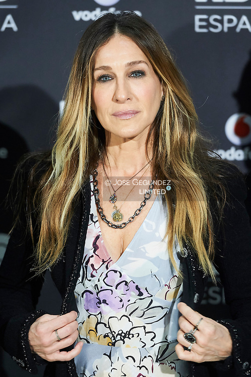 Sarah Jessica Parker attended the Launch of HBO Spain photocell at URSO Hotel & Spa on December 15, 2016 in Madrid