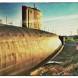 """The USS Albacore Museum in Portsmouth, New Hampshire. iPhone photo - suitable for print reproduction up to 8"""" x 12""""."""
